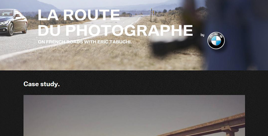 Nominee - BMW – Photographer's Road