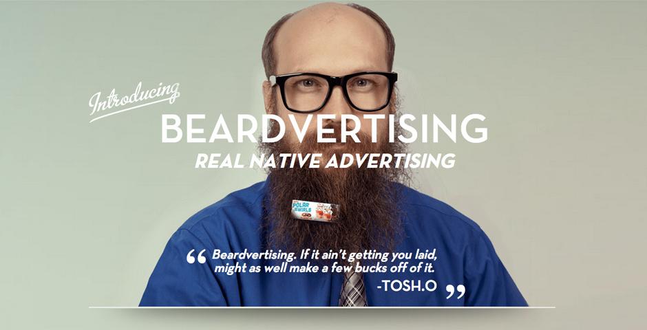 2014 Webby Winner - Beardvertising