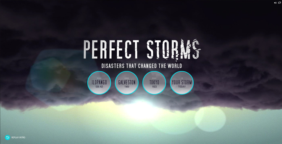Webby Award Nominee - Perfect Storms Interactive