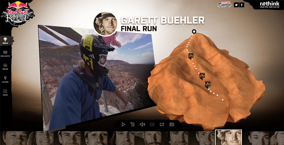 Webby Award Winner - Red Bull Rampage