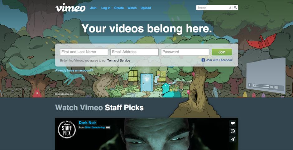 Nominee - Vimeo