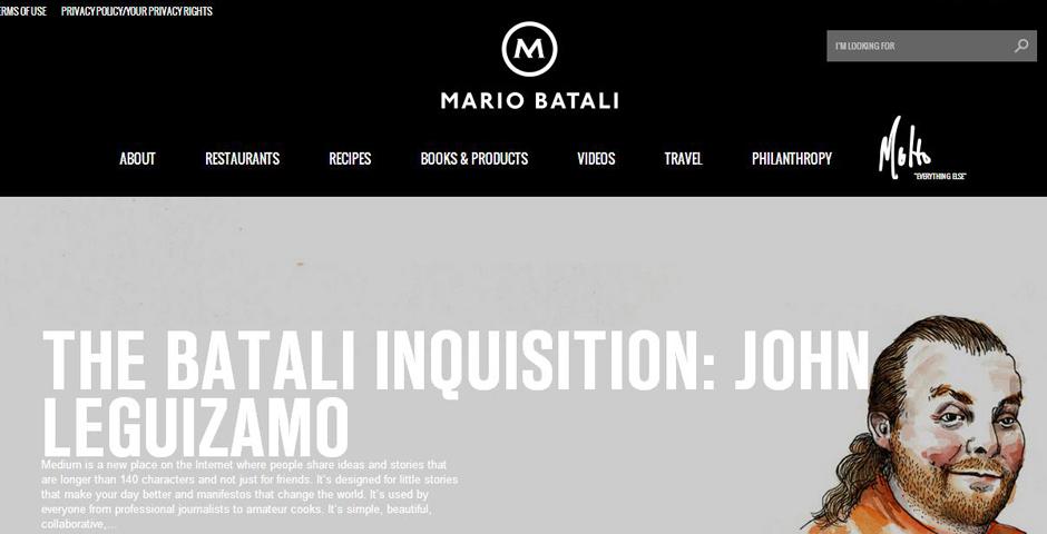Honoree - Mario Batali