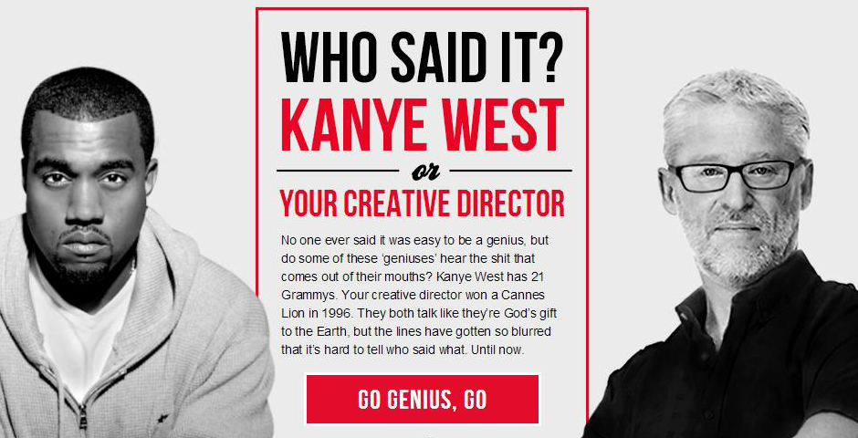 Honoree - Kanye Vs. Creative Director