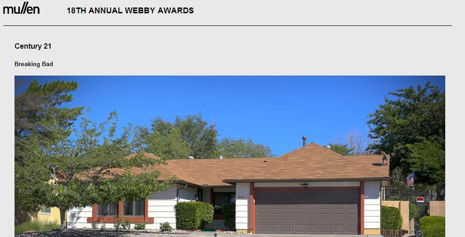 People's Voice / Webby Award Winner - Walter White