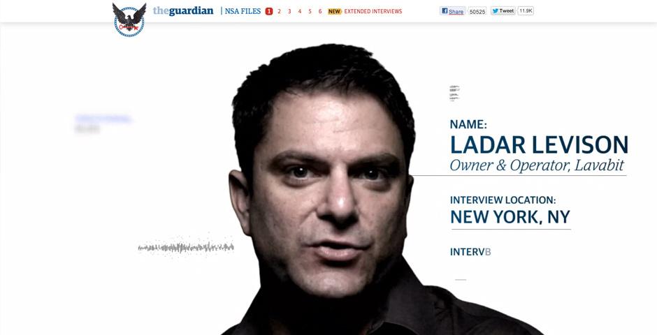 2014 Webby Winner - NSA Files: Decoded
