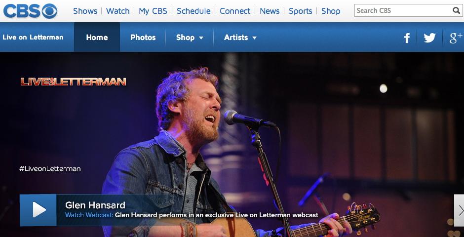 Nominee - Live on Letterman