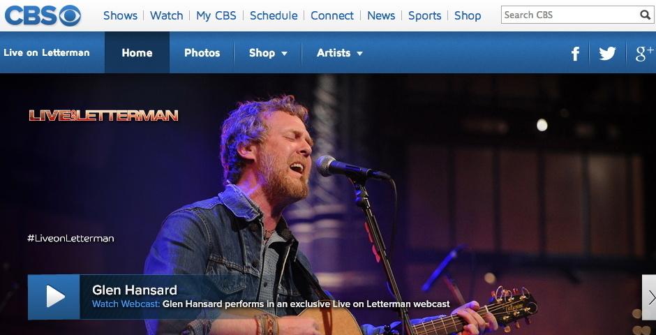 Webby Award Nominee - Live on Letterman
