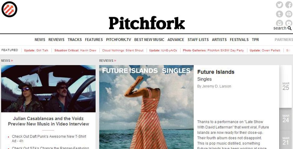 Nominee - Pitchfork