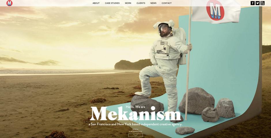 2014 Webby Winner - Mekanism