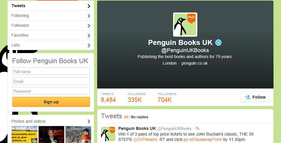 Nominee - Penguin Books UK