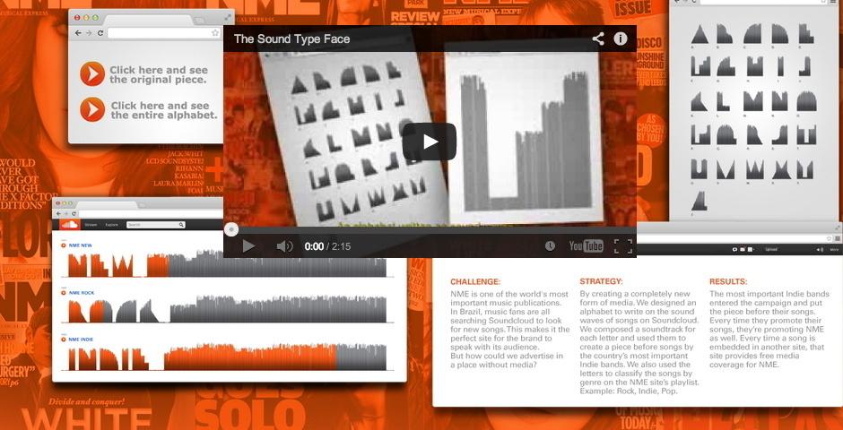 2014 Webby Winner - THE SOUND TYPEFACE
