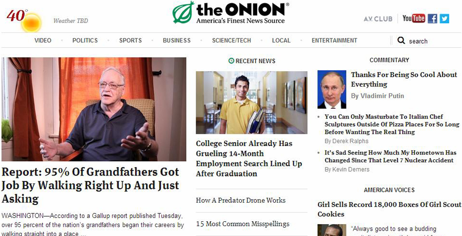 People's Voice - The Onion