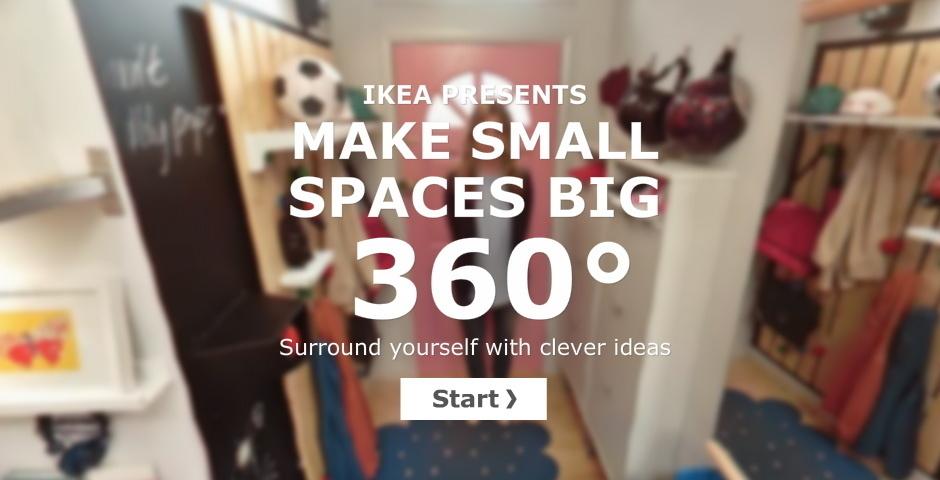 Webby Award Nominee - IKEA Make Small Spaces Big 360°