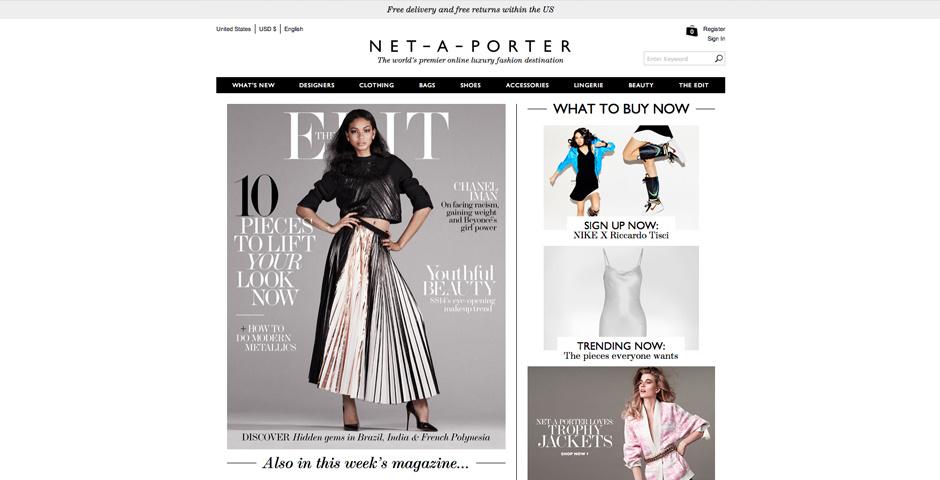 Webby Award Nominee - NET-A-PORTER.COM
