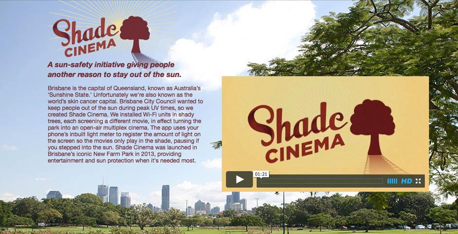 Nominee - Shade Cinema