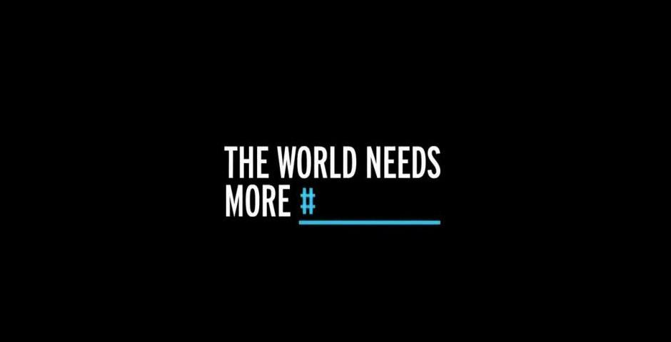 2014 Webby Winner - #theworldneedsmore
