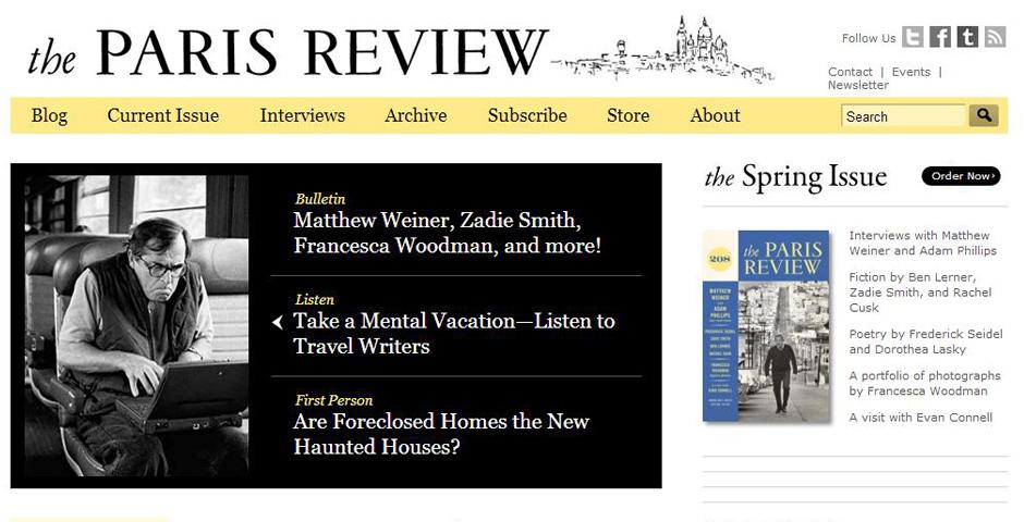 Nominee - The Paris Review