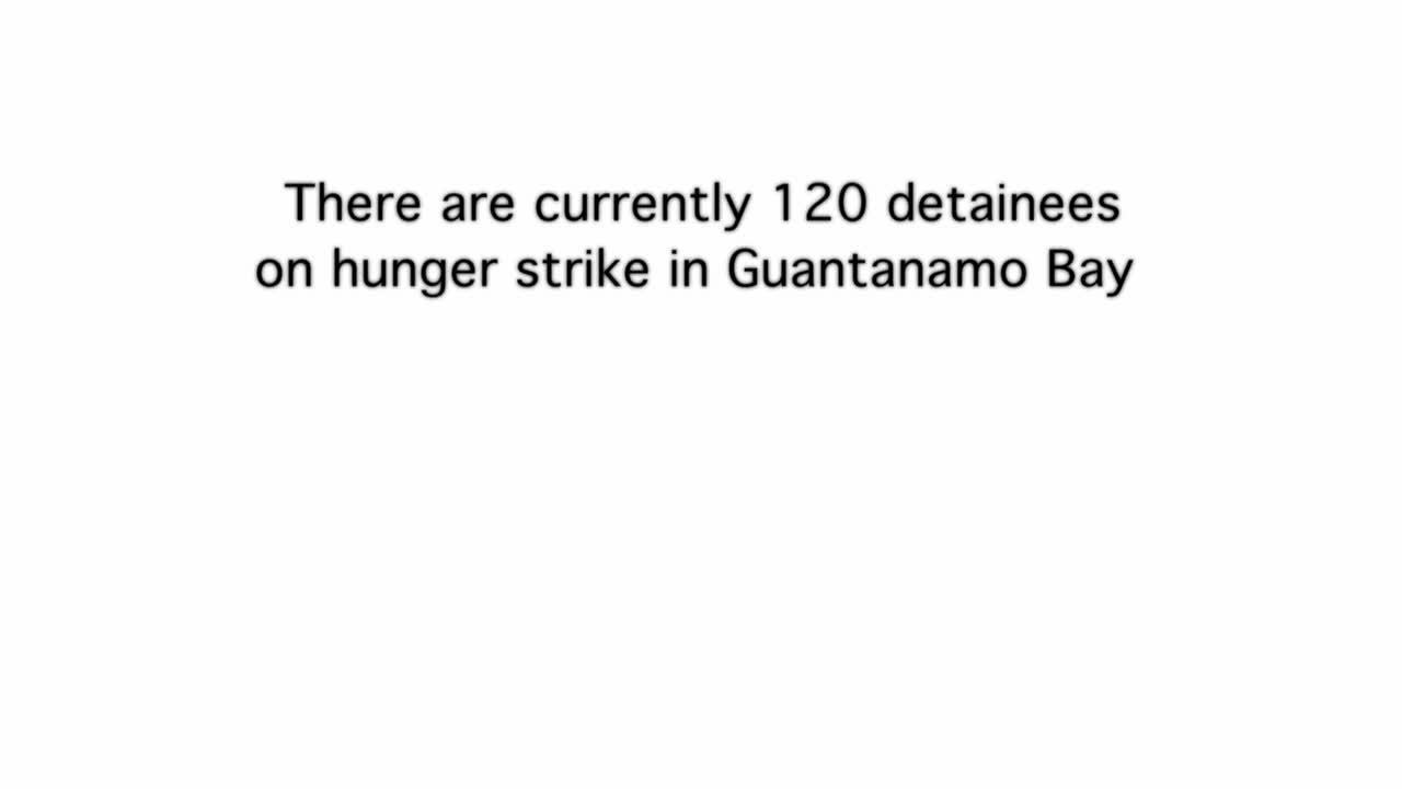Webby Award Nominee - Guantanamo Bay Force-Feeding: Yasiin Bey Demonstrates Standard Operating Procedure