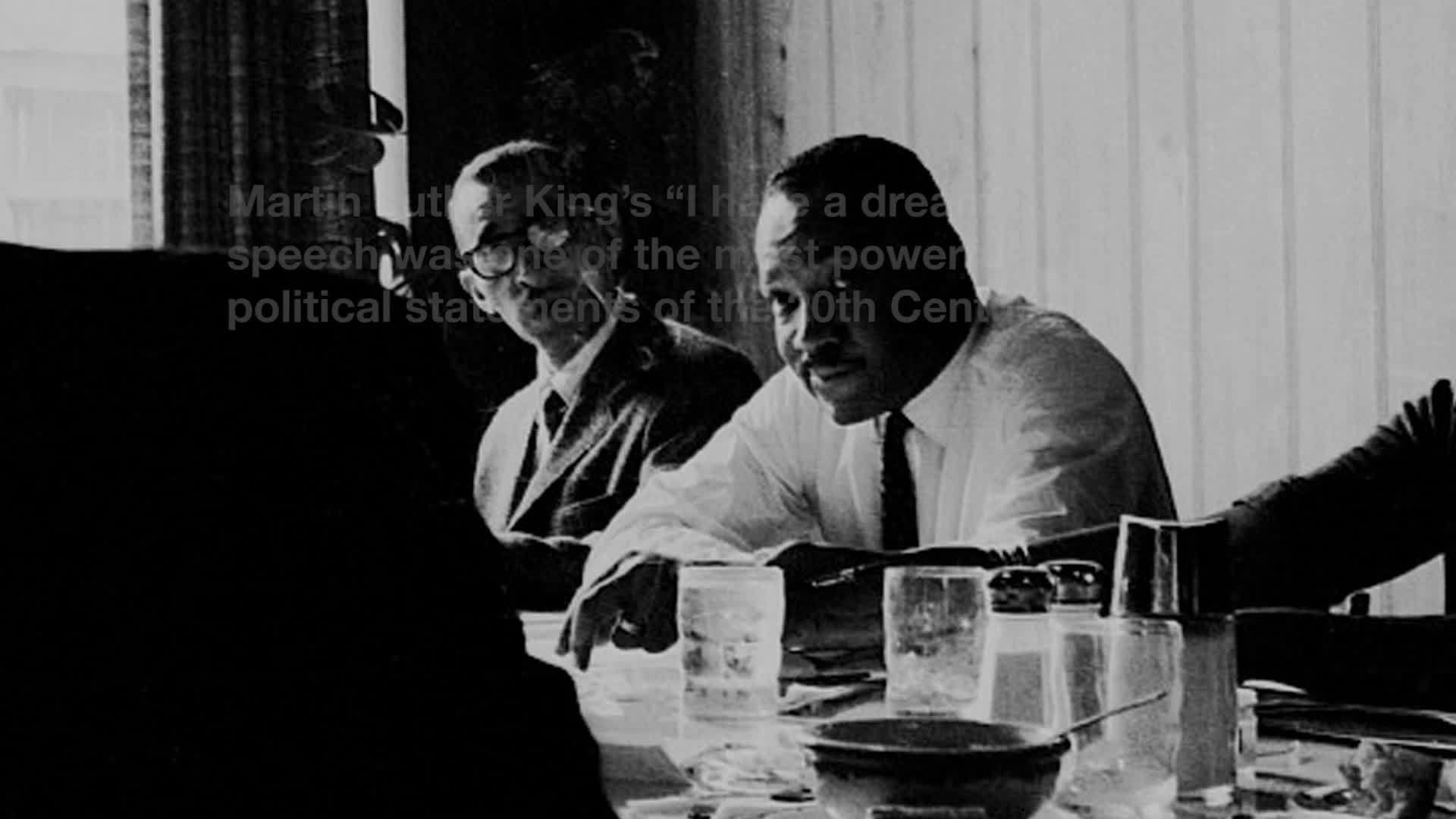 Webby Award Nominee - Martin Luther King: I Have a Dream revisited