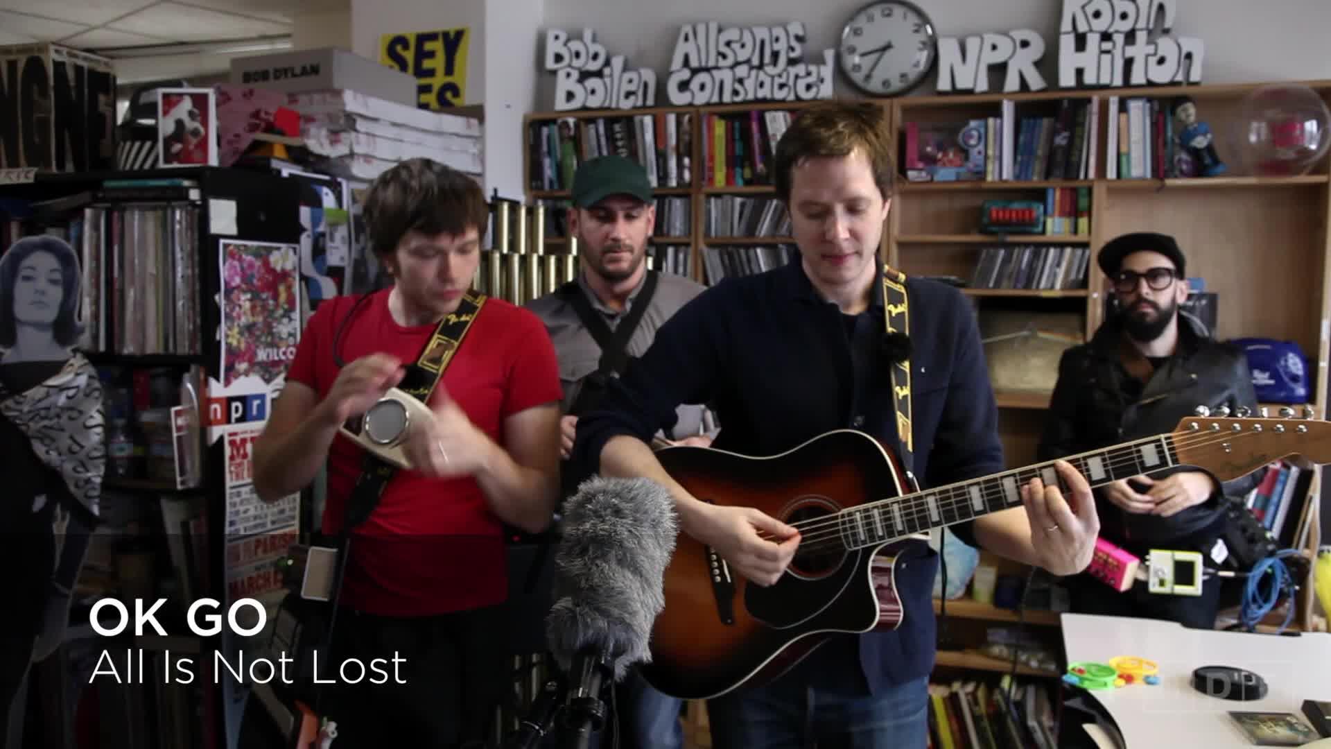 Nominee - NPR Music Tiny Desk Concert With OK Go