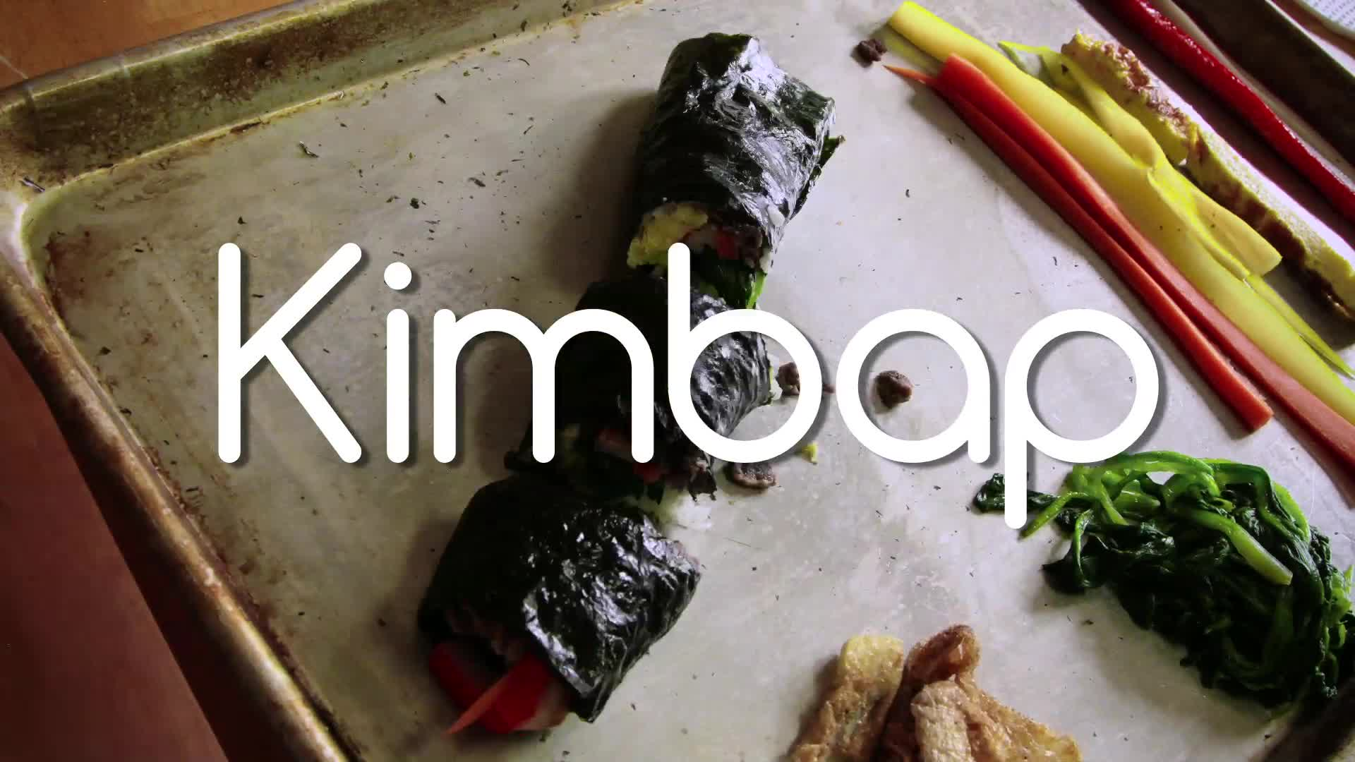 Honoree - How to Make Kimbap
