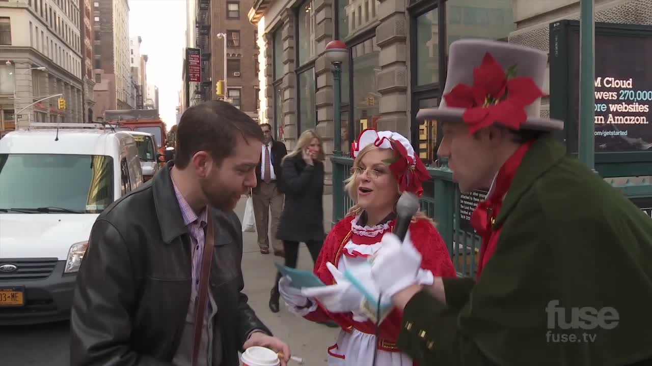 Nominee - Billy on the Street: Christmas Carol Ambush with Amy Poehler
