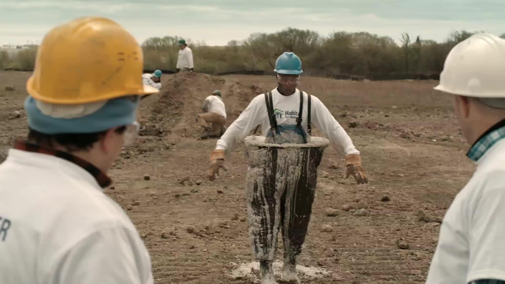 Honoree - Volunteers Alone: Man Mixer/Man Barrow/Man Brace