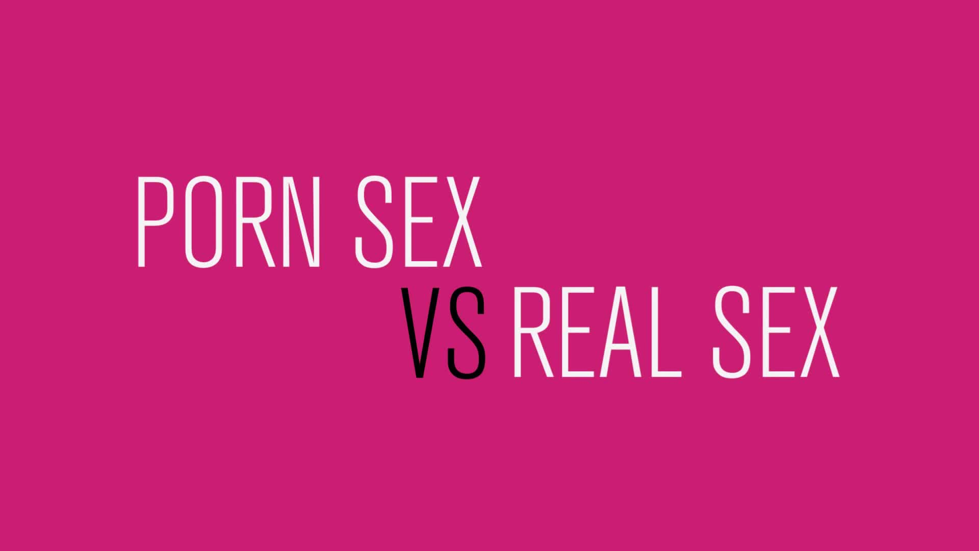 Honoree - Porn Sex vs. Real Sex: The Differences Explained with Food