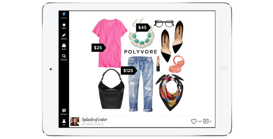 People's Voice - Polyvore iPad App