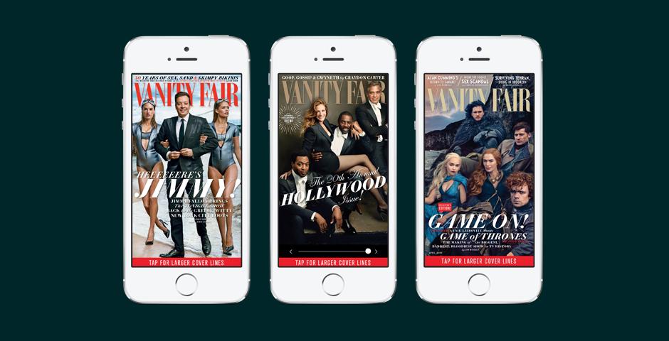 Nominee - Vanity Fair iPhone App