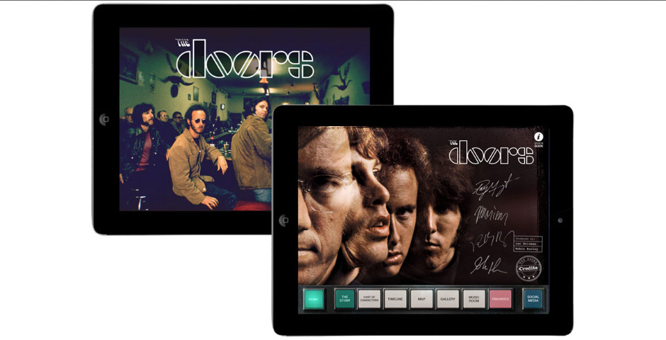 Webby Award Nominee - The Doors