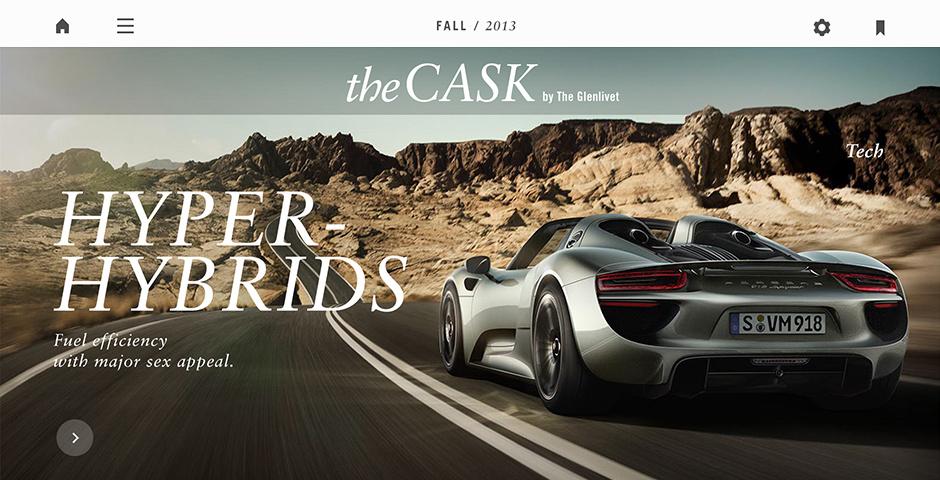 Webby Award Nominee - The Glenlivet - The Cask