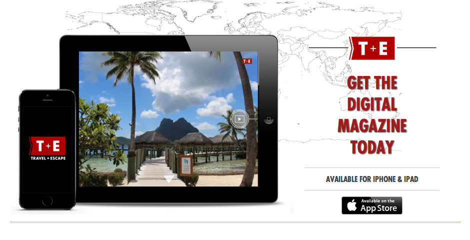 Webby Award Nominee - Travel + Escape Magazine
