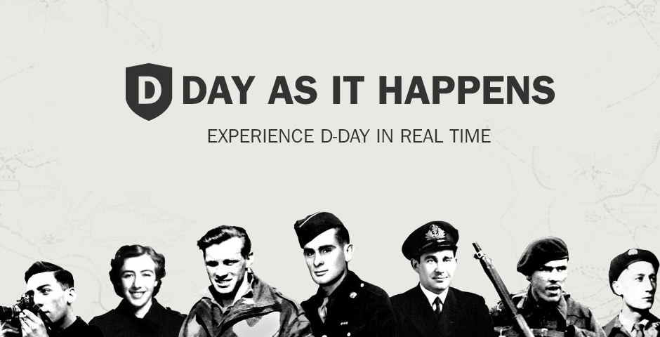 Webby Award Winner - D-Day: As It Happens