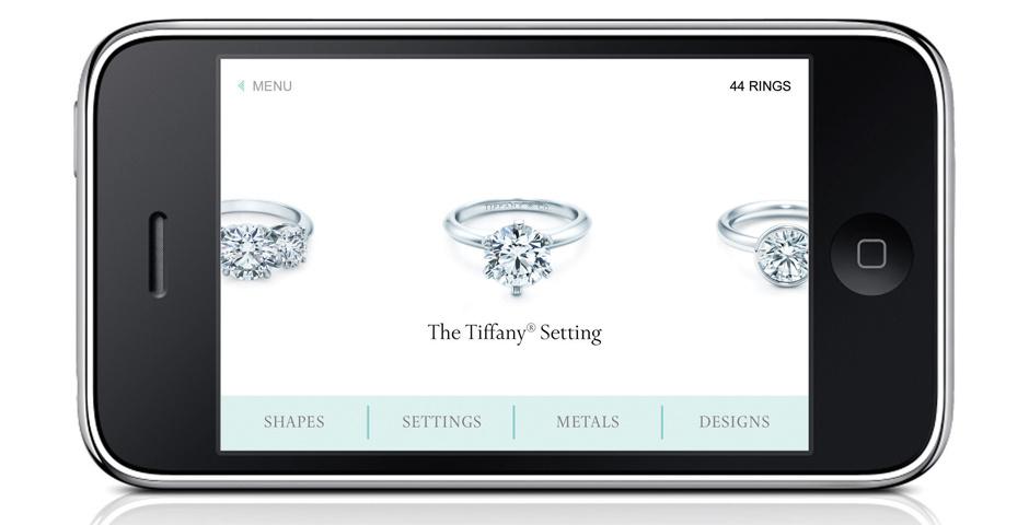 Webby Award Nominee - Tiffany - Engagement Ring Experience