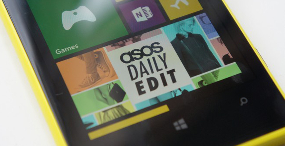 Webby Award Nominee - ASOS Daily Edit
