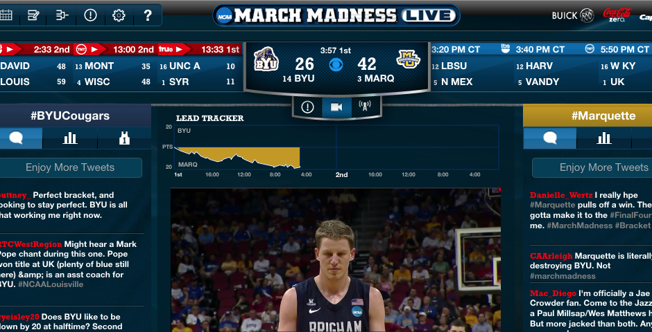 Nominee - NCAA March Madness Live 2013 (iPhone)