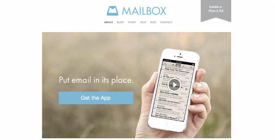 Webby Award Nominee - Mailbox
