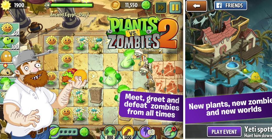 2014 Webby Winner - Plants vs. Zombies 2