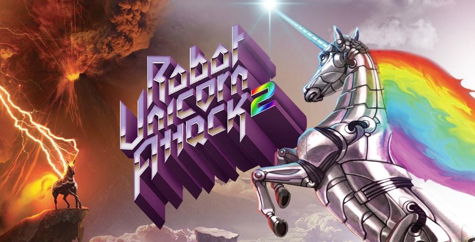 Webby Award Nominee - Robot Unicorn Attack 2