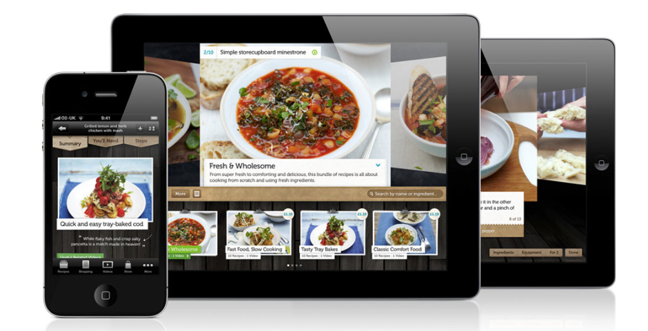 Webby Award Winner - Jamie Oliver's Recipes