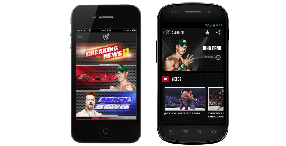 Honoree - The WWE App