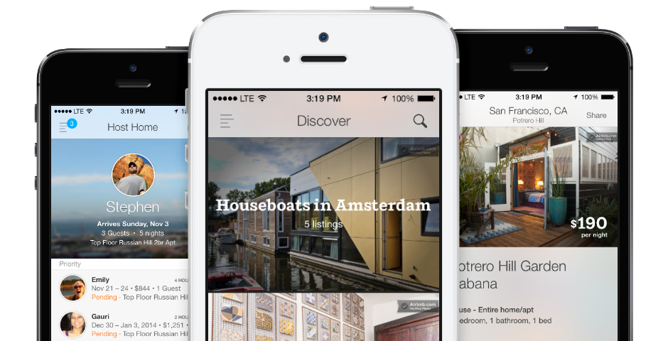 Webby Award Winner - Airbnb iOS App