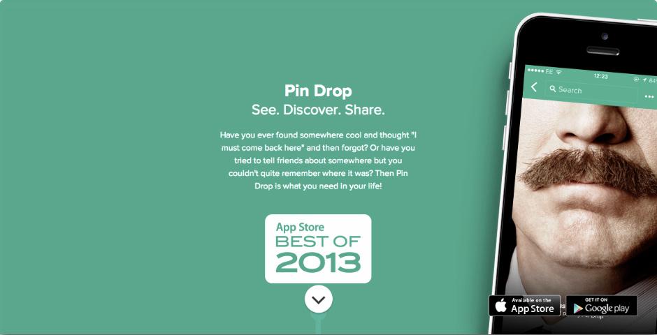 Pin Drop App Pin Drop