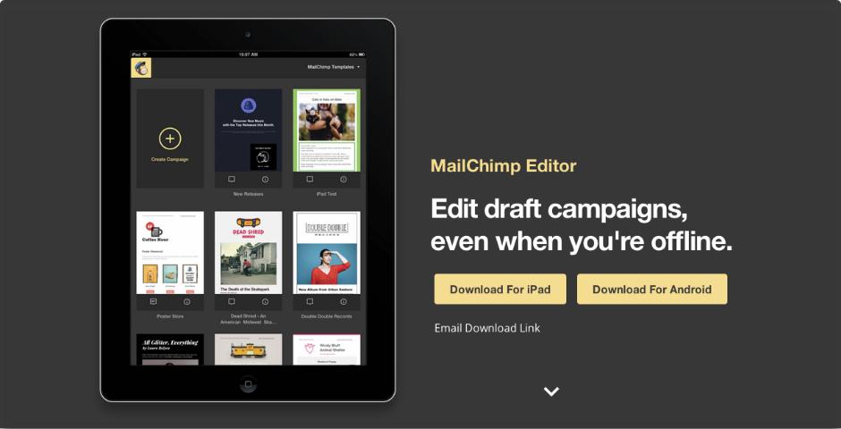 Nominee - MailChimp Editor