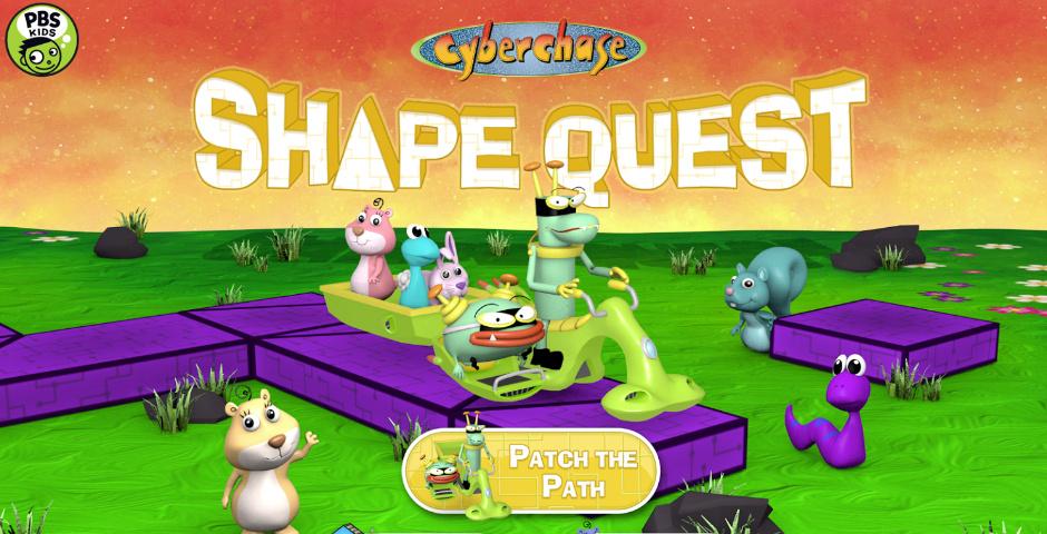 Webby Award Nominee - Cyberchase Shape Quest