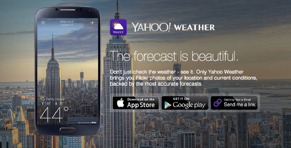 2014 Webby Winner - Yahoo Weather