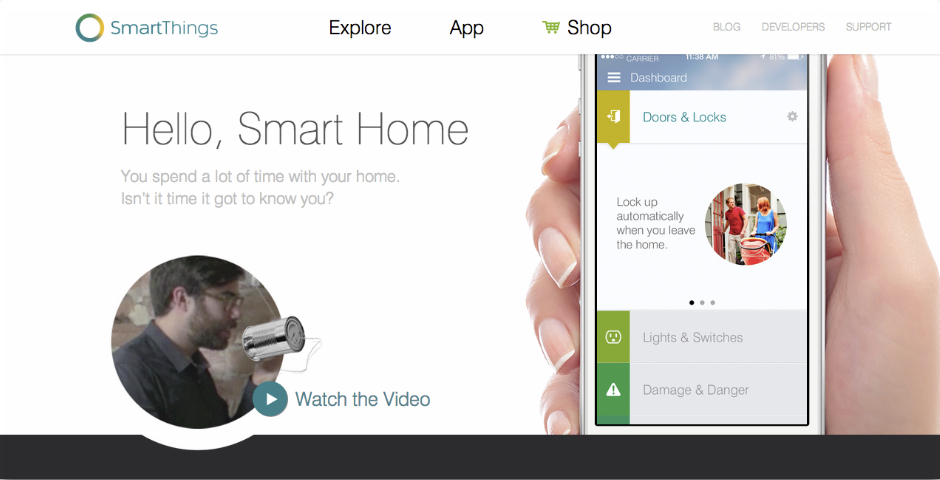 Nominee - SmartThings