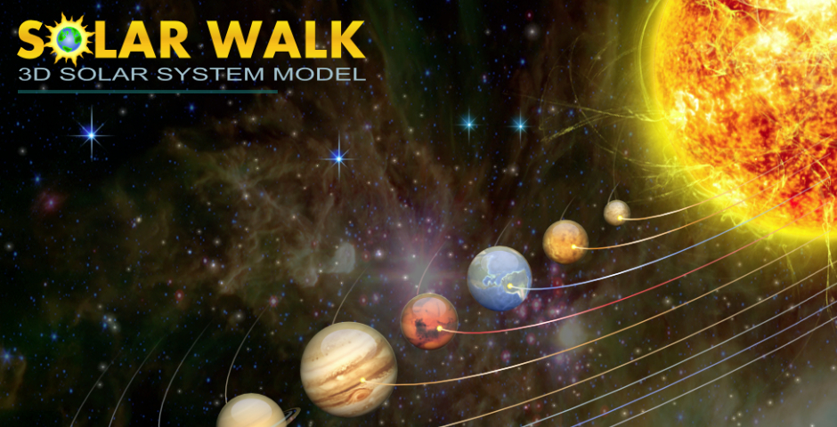 Nominee - Solar Walk – 3D Solar System model