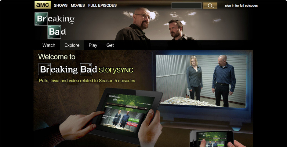 Webby Award Nominee - Breaking Bad Story Sync (The Final Eight Episodes)